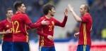 La selección española dejó buenas sensaciones.