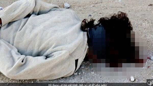 Las 10 ejecuciones de homosexuales más brutales del Estado Islámico (11)