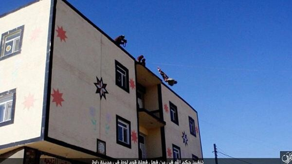 Las 10 ejecuciones de homosexuales más brutales del Estado Islámico (9)