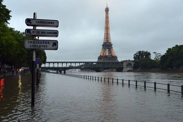 Las inundaciones en Francia cuatro muertos y 24 heridos.