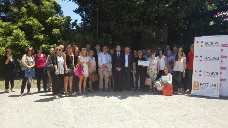 Los Empresarios de salones de Boda y Convenciones de la Comunidad Valenciana se reúnen en el Huerto de Santa María