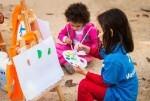 Los voluntarios de 'la Caixa' en Valencia celebran el próximo sábado una jornada de ocio educativo con 400 niños en situación de vulnerabilidad.