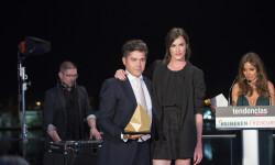 Madeleine Hjört entregó el premio a Jorge Vázquez