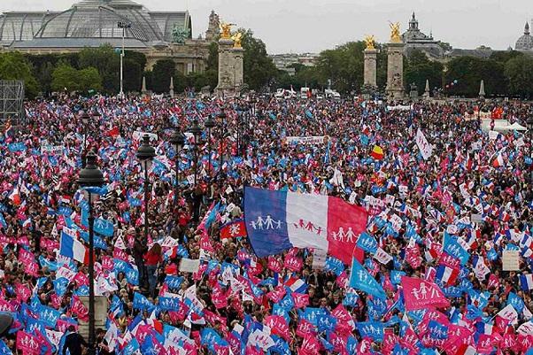 Manifestaciones en toda Francia en el noveno día de movilizaciones contra la reforma laboral.