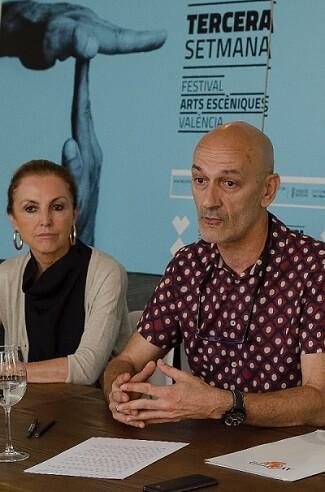 Mari Ángeles Fayos y Salva Bolta.