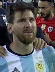 Messi falló una de las penas máximas en la tanda de penaltis.