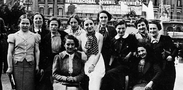 Mujeres judías que trabajaron como enfermeras en el Hospital Militar Internacional de Ontinyent durante los años de la Guerra Civil.
