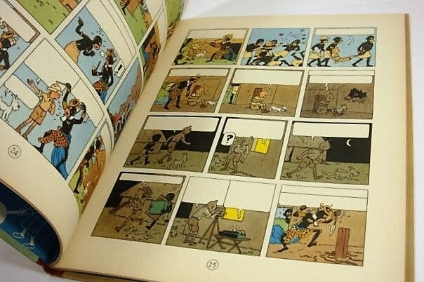 Pagan 39.000 euros por un cómic de Tintín de hace 68 años.