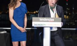 Paloma Lago entregó el premio a Tomás Alía