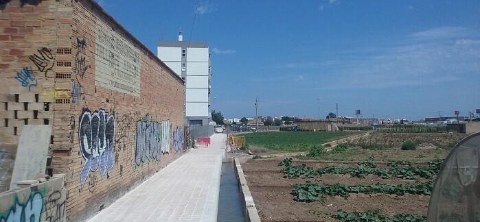Pavimentación de acequia H. Alcedo.