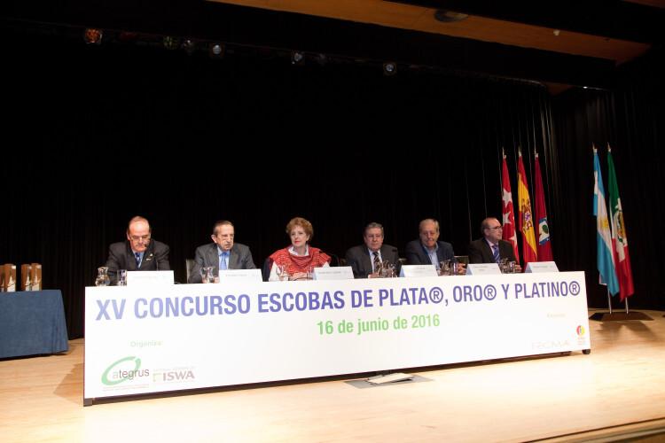 Premios Escobas de Plata, Oro y Platino, 2016