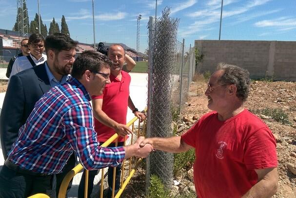Rafelbunyol inicia la renovación de sus instalaciones deportivas con 200.000 euros del IFS de la Diputación.