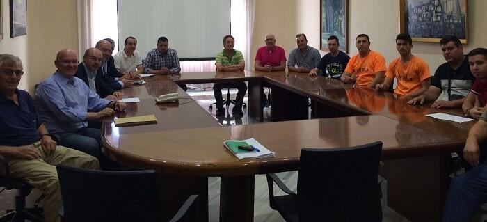 Reunión con la Federación de Bous al Carrer de la Comunitat. Valenciana