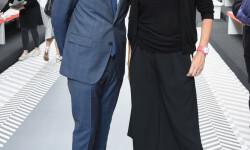 LONDON, ENGLAND - JUNE 11:  Dylan Jones and Caroline Rush attend the Jermyn Street St James's London Collections Men Catwalk Show on June 11, 2016 in London, England.  (Photo by David M. Benett/Dave Benett/Getty Images for The Crown Estate) *** Local Caption *** Caroline Rush;Dylan Jones