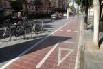 Se refuerza la señalización del carril de bici de la ciudad.
