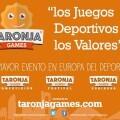 Taronja Games- Más de 1.000 inscritos para unos juegos con más de 25 disciplinas.