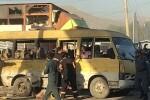 Un ataque suicida contra un autobús en Kabul deja al menos 14 muertos.