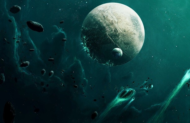 Un estudio revela que una lluvia de asteroides pudo llevar agua al interior de la Luna.