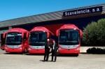 Jose Jimenez, jefe de flota de Grupo Transvia e Ignacio Cortezón, Director Comercial de Autobuses de Scania Ibérica.