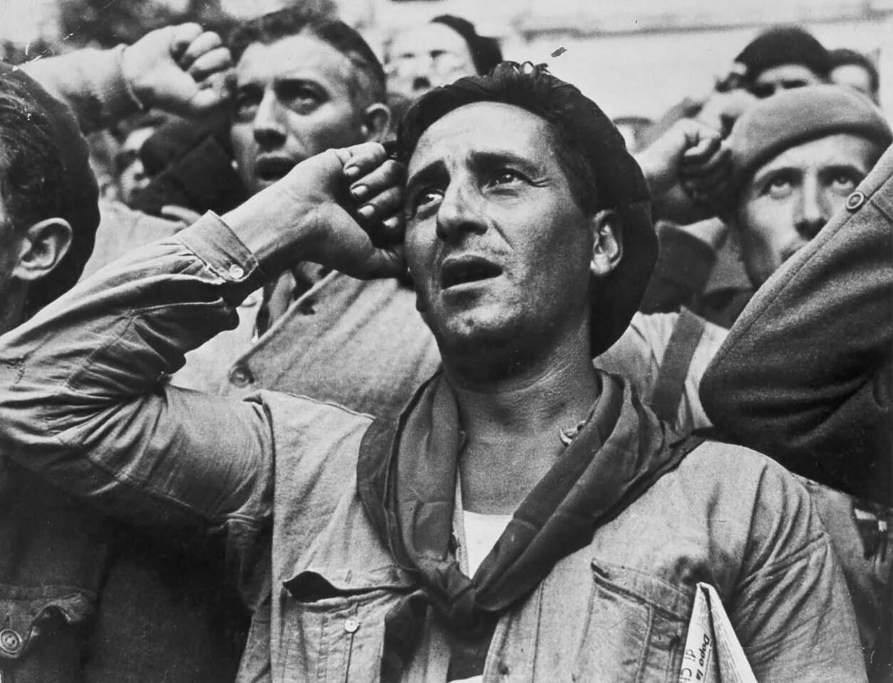80 años de la Guerra Civil Española desde el lente de Robert Capa (2)