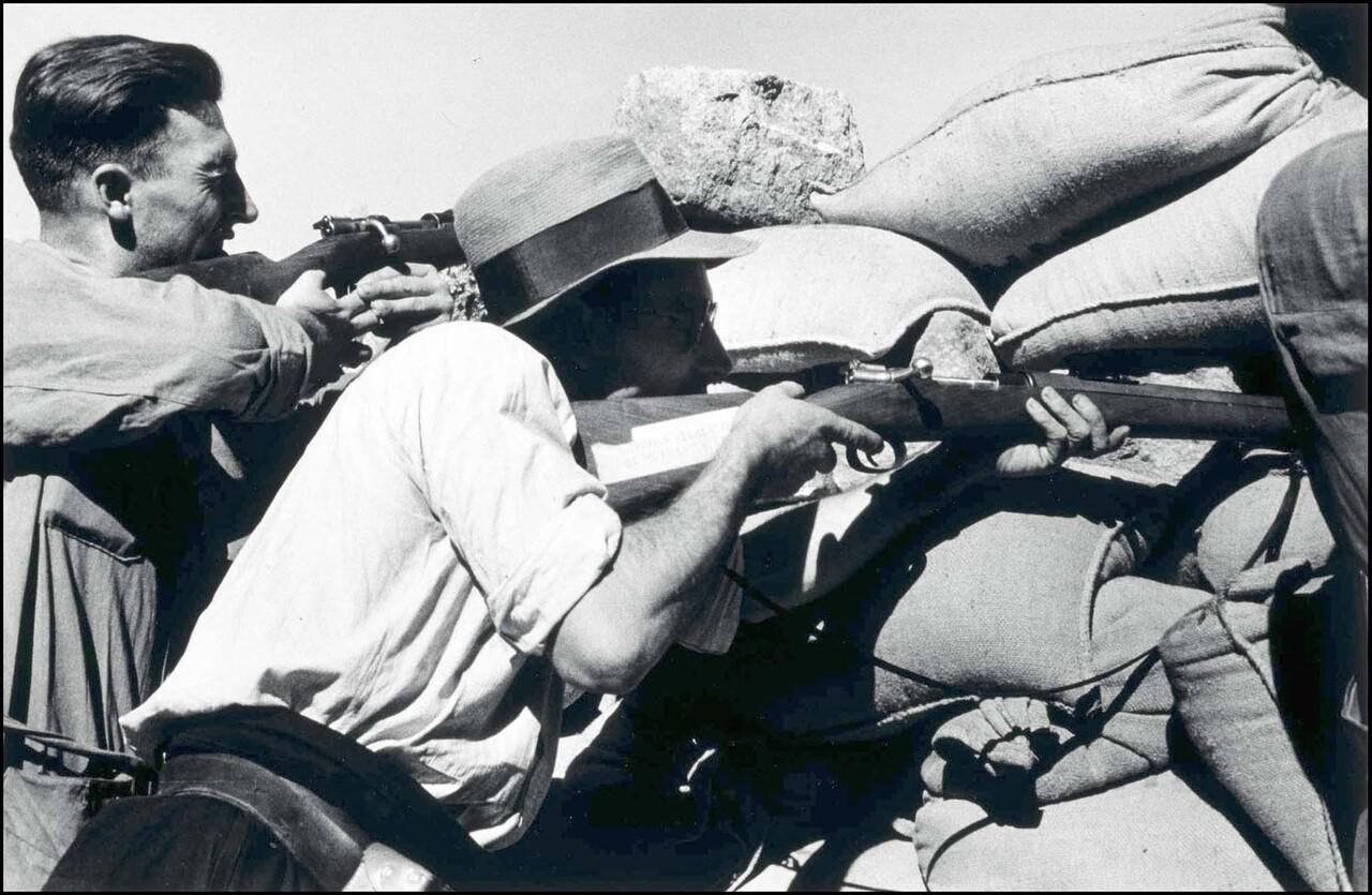 80 años de la Guerra Civil Española desde el lente de Robert Capa (5)