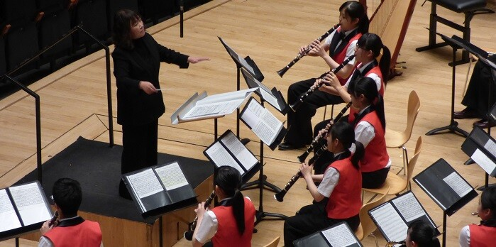 Aomori Prefecture High School Band.