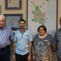Campillo se reúne con la Federación de Asociaciones de Vecinos para explicarles el Plan de Eficiencia Lumínica de Valencia.
