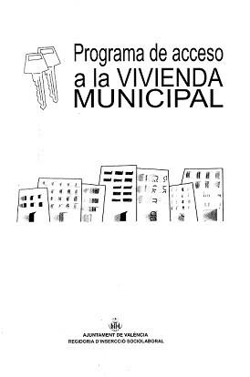 Cartel del Programa Acceso  a la Vivienda Municipal.