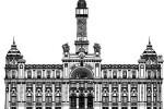 Comienzan las obra sde rehabilitación de la fachada del edificio principal de Correos en Valencia.