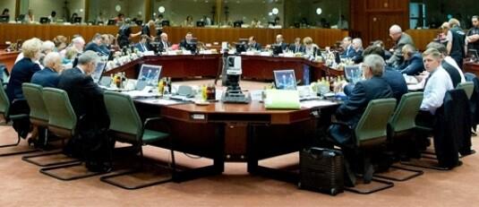 Consejo de Ministros de la UE.