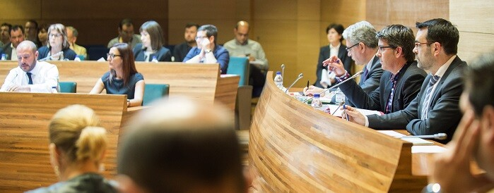 De acuerdo con el texto, se acordará revocar la distinción de Presidente Honorario de la Diputación de Valencia a Francisco Franco Bahamonde, así como la Medalla de Oro al dictador. (Foto-Abulaila).