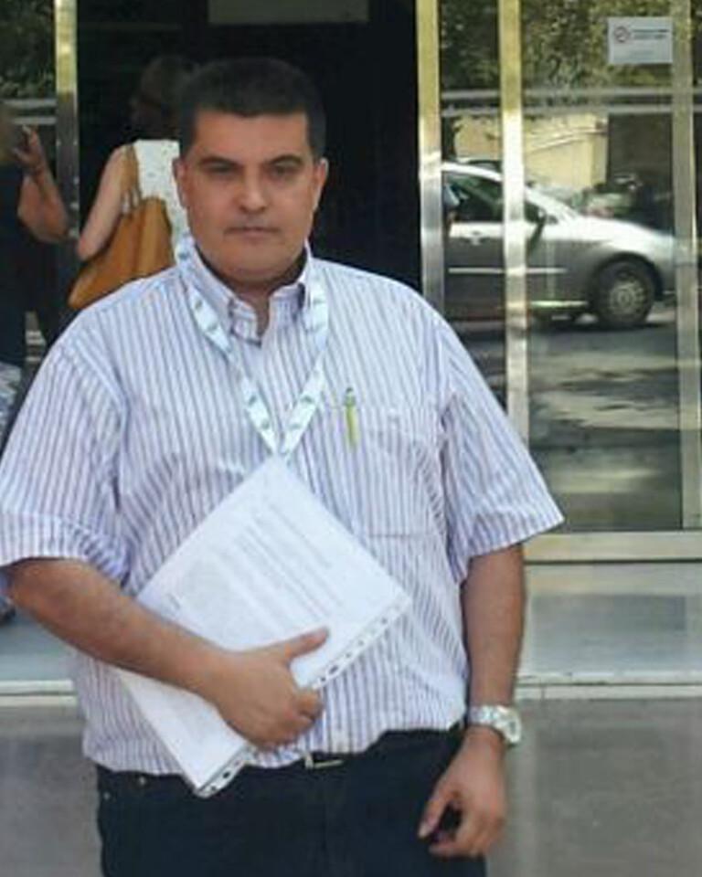 Delegado de CSI·F Fernando García