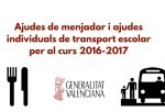 Educación aumenta en más de 10 millones de euros las becas de comedor escolar para el curso 2016-2017.