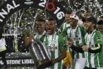 El Atlético Nacional conquista la Copa Libertadores al vencer al Independiente del Valle (1-0).
