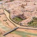 El MuVIM recupera la maqueta del plano de la ciudad de Valencia del padre Tosca.