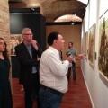 El Museo de Historia inaugura una exposición de pinturas inspiradas en imágenes de la Guerra Civil