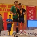 El haltera Michael Otero logra ser campeón absoluto de España.