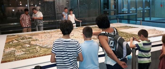 El museo se sumó a otros tantos museos e instituciones valencianas que ampliaron su horario.