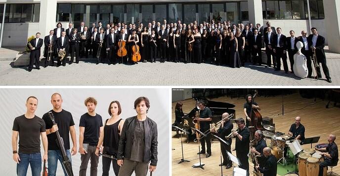 El programa fusiona dos sonidos diferentes, el de la big band y el de la orquesta sinfónica.