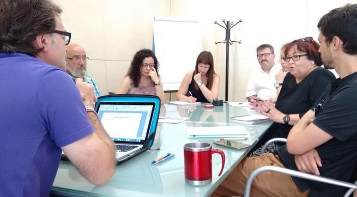 El regidor Giuseppe Grezzi se ha reunido por segunda vez con los representantes de la Federación de Asociaciones de Vecinos de Valencia.