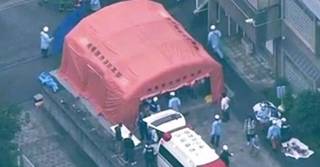 El supuesto atacante se entregó en una comisaria y confesó su crimen. (Imagen de la TV).