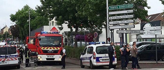 Es el segundo ataque en Francia en menos de dos semanas.