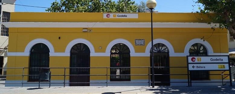 Estación de Godella.