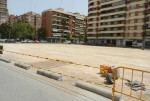 Finaliza la adecuación del solar situado en el colegio El Pilar.