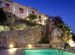 Hospedería Rural Bajo el Cejo - murcia - piscina de noche