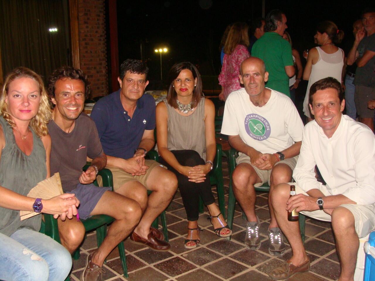 IsabelDomingo, FélixMéndiz,Juan Carlos garcía, Ana Mir,JuanjoMarti y José González Barranca