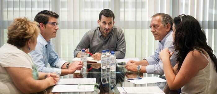 Jorge Rodríguez y Berenguer se reúnen con el conseller Marzá (Foto-Abulaila).