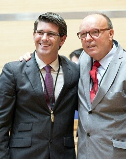Jotge Rodríguez y Pepe Ruíz.