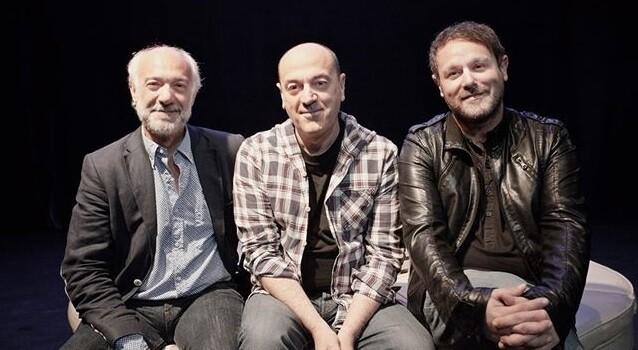 Juan Carlos Garés, Chema Cardeña y David Campillos.