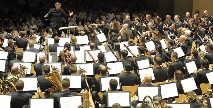 La Banda Sinfónica la Lira de Pozuelo.